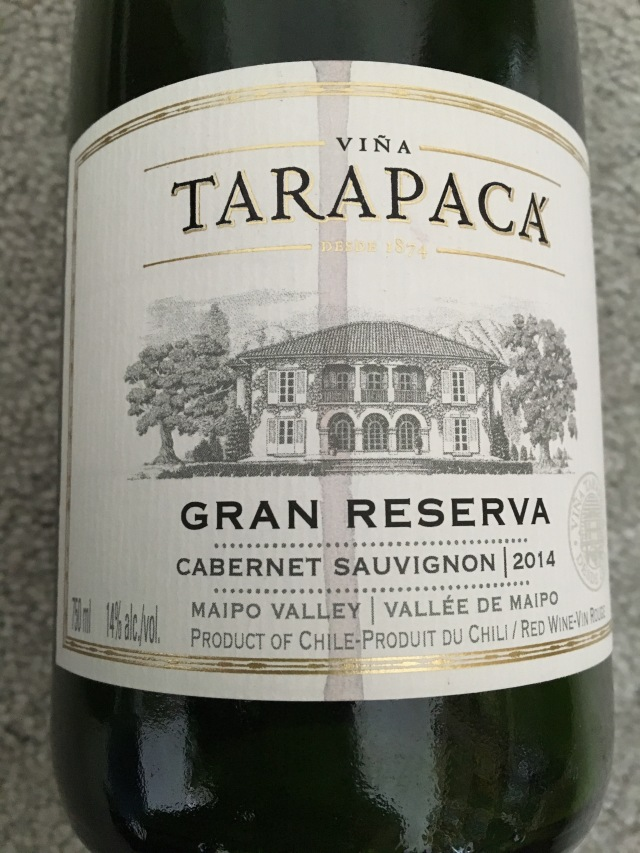 Viña Tarapacá Gran Reserva Cabernet Sauvignon 2014