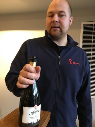 William Hoare and his bubbly