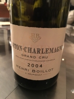 Henri Boillot Corton-Charlemagne 2004
