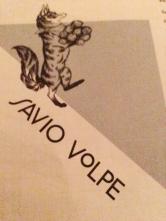 Savio Volpe menu design