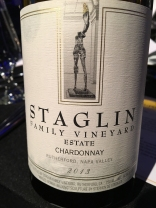 Staglin Family Vineyard Estate Chardonnay 2013, Napa Valley