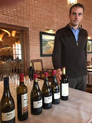 Winemaker Pierre-Yves Dessèvre at Dehesa del Carrizal