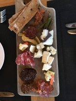Charcuterie plate at Benchmark