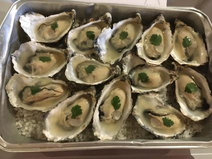 Oysters at Luneau-Palinska