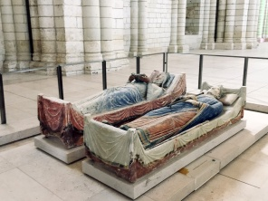 Sarcophagi of Henry II and Eleanor of Aquitaine