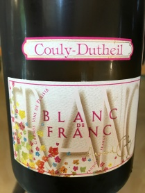 A white wine from Cabernet Franc
