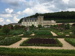 The gardens of Château Villandry