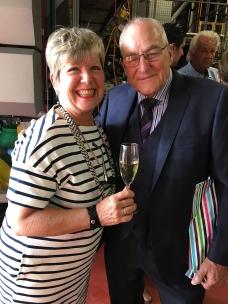 Deborah with Herbert Konzelmann